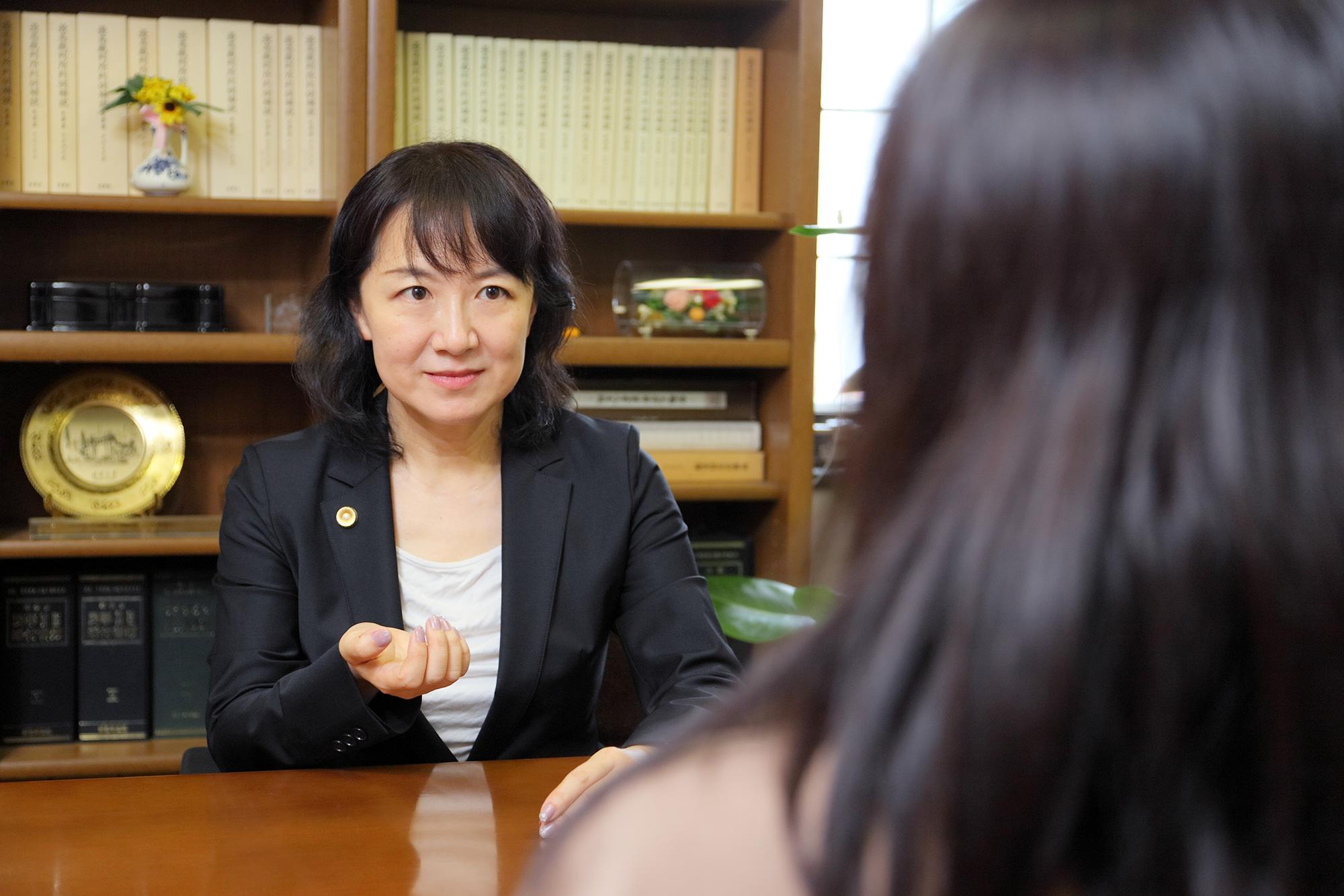 弁護士早瀬 靖恵オフィシャルWEBサイト